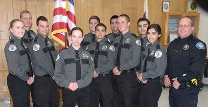 Tehachapi Police Explorer post 1018