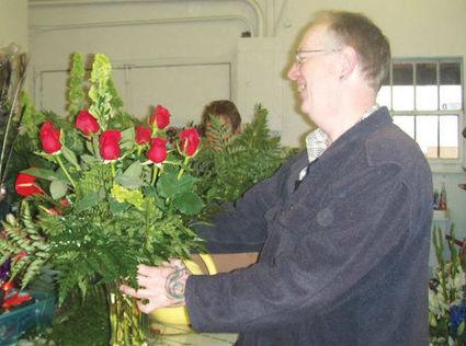 Tehachapi Flower Shop bids a fond farewell to Dave Bryant